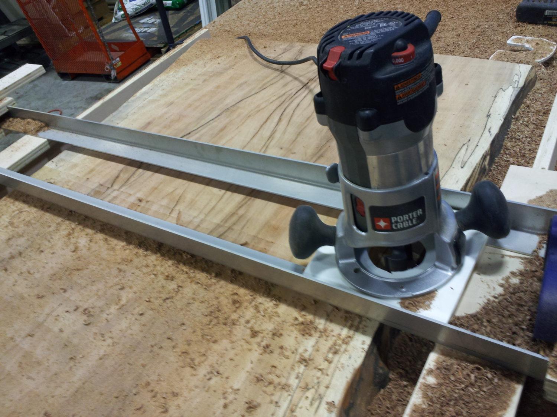 Wood Slab Desk - Furst Woodworking