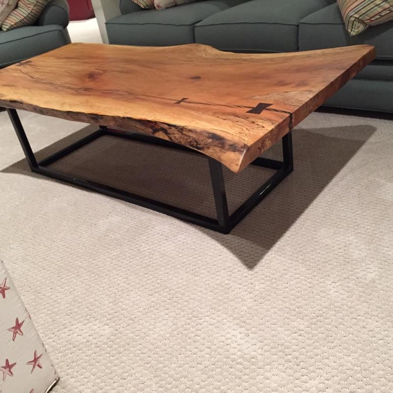 Wood Slab Coffee Table Furst Woodworking